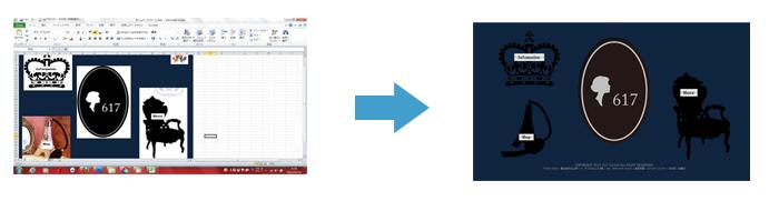あなたのラフデザインからホームページを作ります